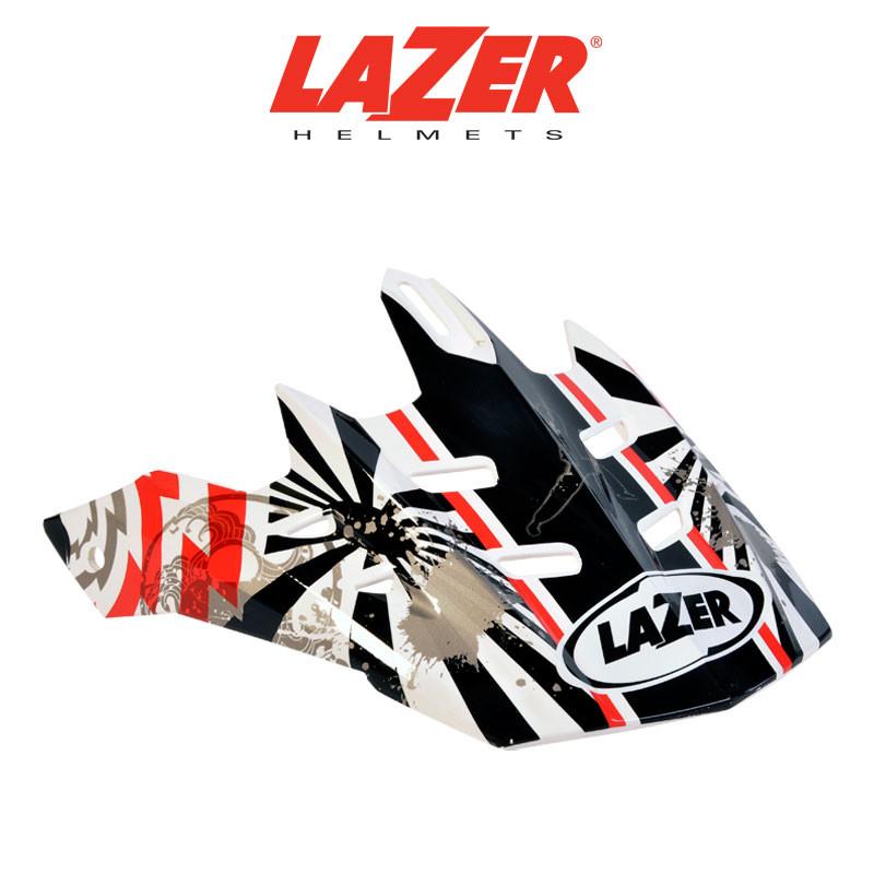 Skärm LAZER  X6 Thunder vit/röd