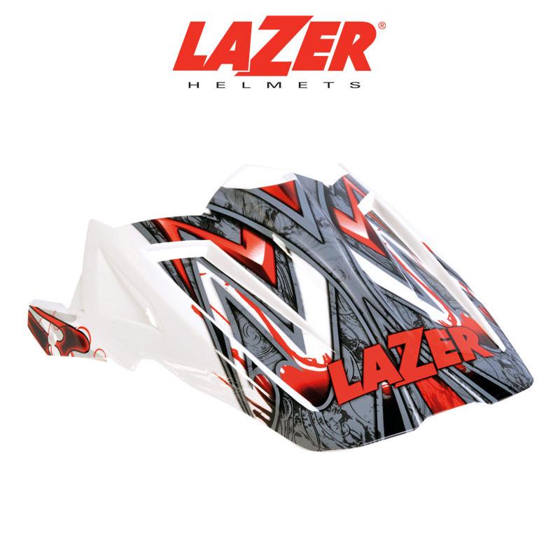 Skärm LAZER  X7 Skelter vit/röd