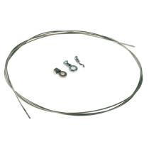 Kabelreparationssats ROTARY: inkl. Kabel 2mm x 250cm, o-nippel 2 st och Z-Nippel