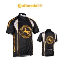 Cykeltröja Continental kort ärm svart-gul M