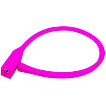 Kabellås PFC, silicon, 10x600mm, rosa