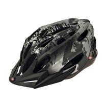 Cykelhjälm X-COOL City Jr, svart/ silver 54-58cm
