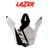 Skärm LAZER  X8 Whip vit/röd