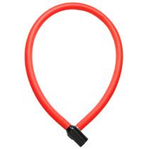 Wirelås TRELOCK KS106, 6x600mm, röd