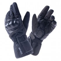 Handske TIMELESS Milano, svart, CE-godkänd