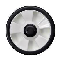 """Hjul ARCHER 7 """"universal, plast. Inkl. bussningar för 1 /2 """", 3/8"""" och 9/16"""""""