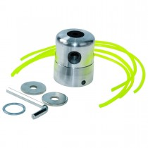 Alumiinirunkoinen siimapää ARCHER: 4-siimalla