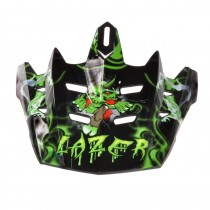 Skärm LAZER  X6 Junior Monstro svart/grön