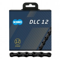 Kedja KMC DLC 12, 12-delad, svart, 126L