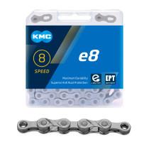 Kedja KMC e8, 8-delad, EPT, antirost, 122L, E-Bike