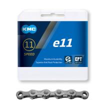 Kedja KMC e11, 11-delad, EPT, antirost,136L, E-Bike