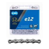 Kedja KMC e12, 12-delad, EPT, antirost, 130L, E-Bike