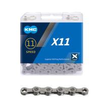 "Kedja KMC X11 Grey, 11-delad, 1/2 x 11/128"", 118L"