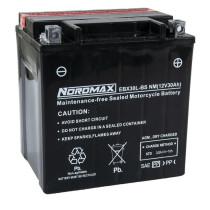 Akku EBX30L-BS, Nordmax 12V/30Ah, mukana happopatruuna