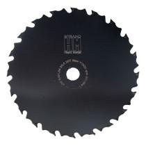 Röjsågsklinga 225 mm STRAND-HM: 25,4mm hål